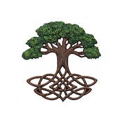 Tree of Life Wall Plaque (Painted)