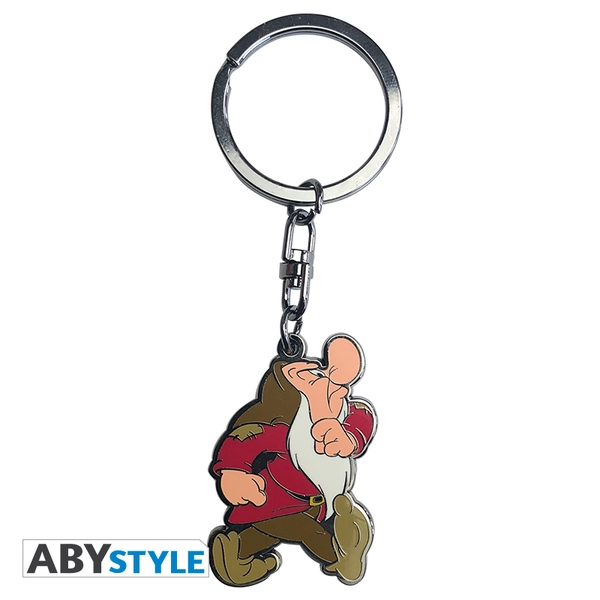 Disney - Snow White/ Grumpy Metal Keyring
