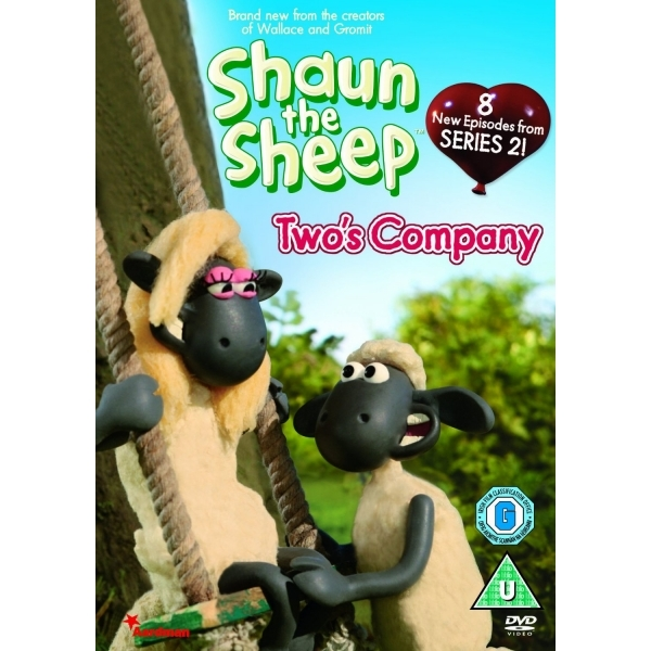 Shaun The Sheep Two's Company DVD