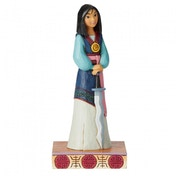 Winsome Warrior (Mulan Princess) Disney Traditions Passion Figurine