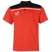 Sondico Precision Polo Youth 11-12 (LB) Red/Black