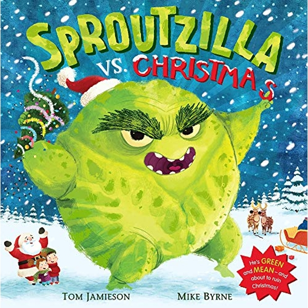 Sproutzilla vs. Christmas by Tom Jamieson (Paperback, 2016)