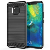 Caseflex Huawei Mate 20 Pro Carbon Fibre Gel Case - Black