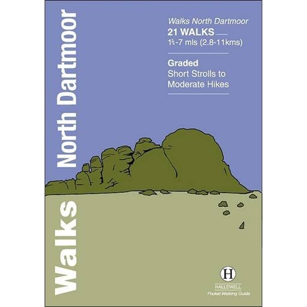 Walks North Dartmoor by Richard Hallewell (Paperback, 2012)