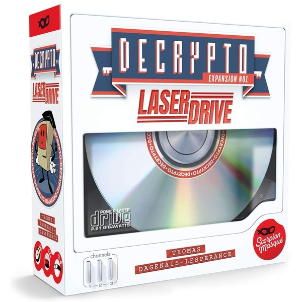 Decrypto: Laserdrive Expansion