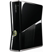 Slim Console with 250GB HDD Gloss Black Xbox 360