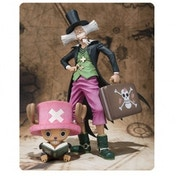 Bandai One Piece Tony Tony Chopper and Dr. Hiluluk Action Figures