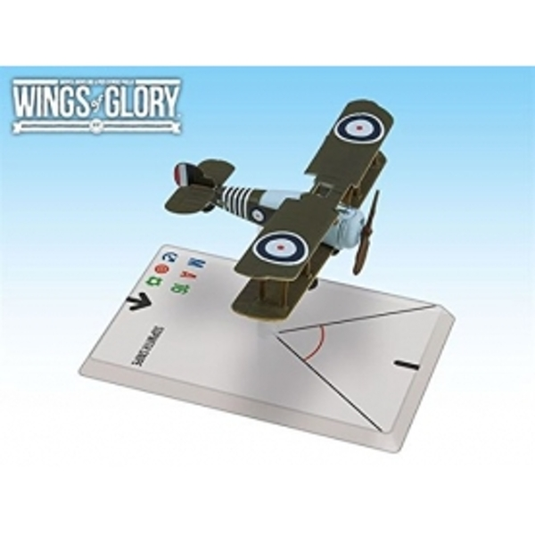 Wings of Glory Sopwith Snipe Barker Board Game