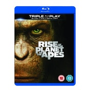 Rise of the Planet of the Apes Triple Play Blu-Ray DVD & Digital Copy