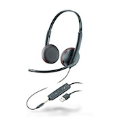 Plantronics Blackwire C3220 Stereo USB Headset Black