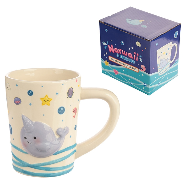 Cute Narwhal Ceramic Mug