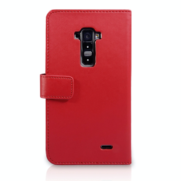 YouSave Accessories LG G Flex Leather-Effect Wallet Case - Red - Image 2