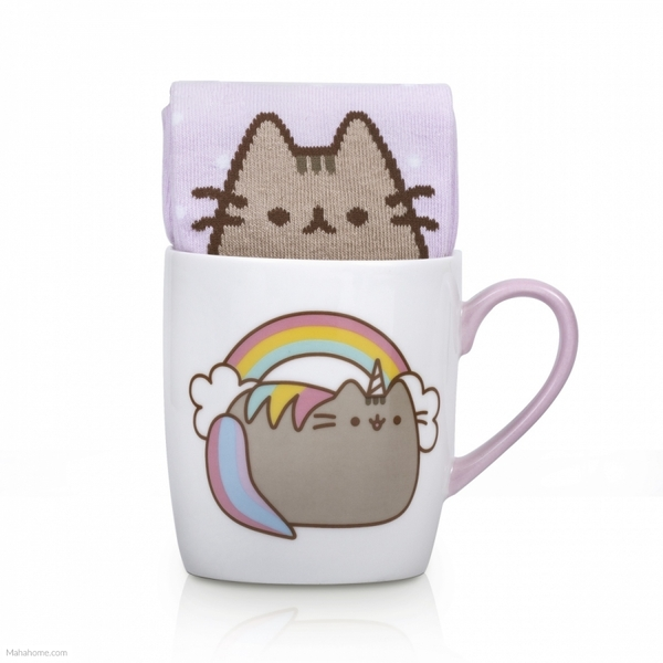 Pusheen - Sock in a Mug - Unicorn