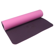 UFE 6mm TPE Yoga Mat - Mulberry/Pink
