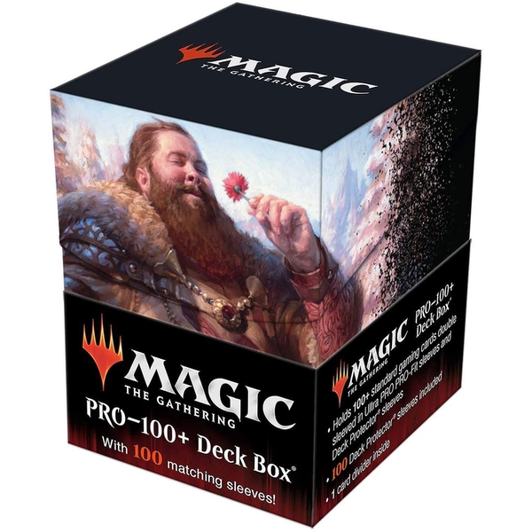 Magic The Gathering - Commander Legends V3-PRO 100+ Deck Box and 100 sleeves