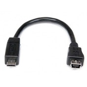 6in Micro USB to Mini USB Adapter Cable Male to Female
