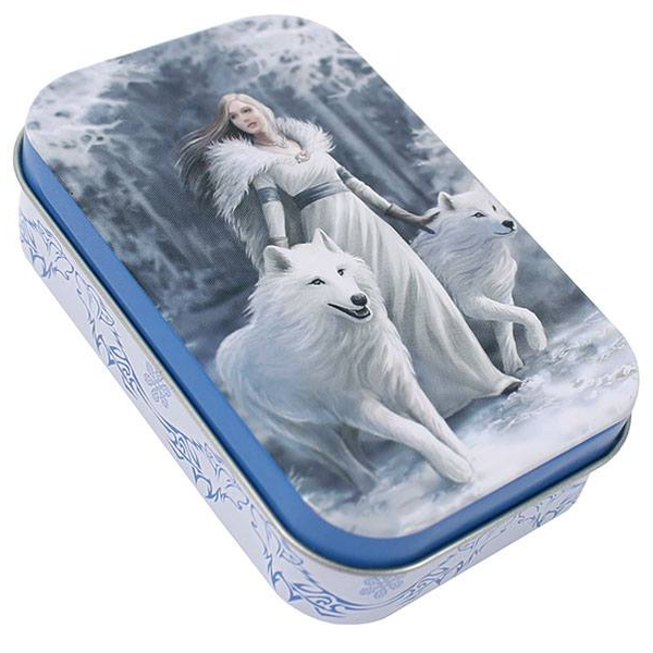 Winter Guardian Tin by Anne Stokes