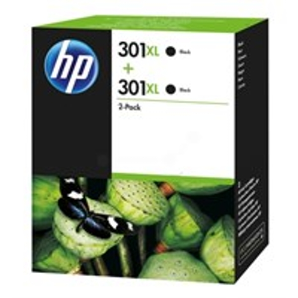 HP D8J45AE (301XL) Printhead black, 480 pages, 8ml, Pack qty 2