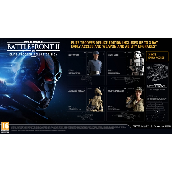 Star Wars Game For Xbox 1 : Star wars battlefront ii elite trooper deluxe edition xbox
