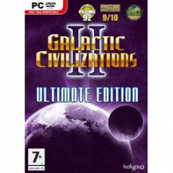 Galactic Civilizations II 2 Ultimate Edition Game PC