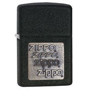 Zippo Brass Emblem Back Crackle Windproof Lighter