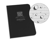 Rite In The Rain Unisex Field-Flex Memo Waterproof Notepad, Black, 3½ x 5-Inch