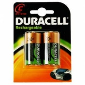 Duracell Rechargeable C size 2 Pack Batteries