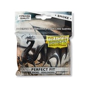 Dragon Shield Perfect Fit Sideloaders - Smoke 100 Sleeves In bag - 15 Packs