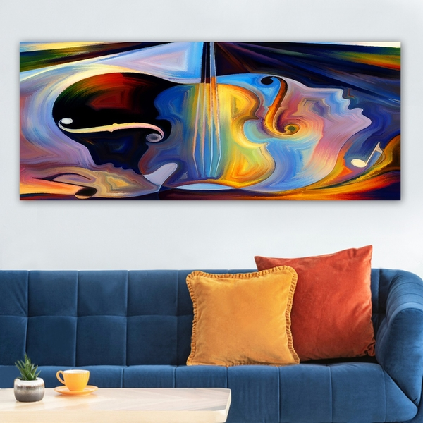 YTY225335341_50120 Multicolor Decorative Canvas Painting