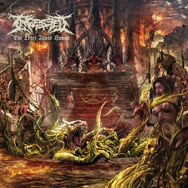 Ingested - The Level Above Human Vinyl