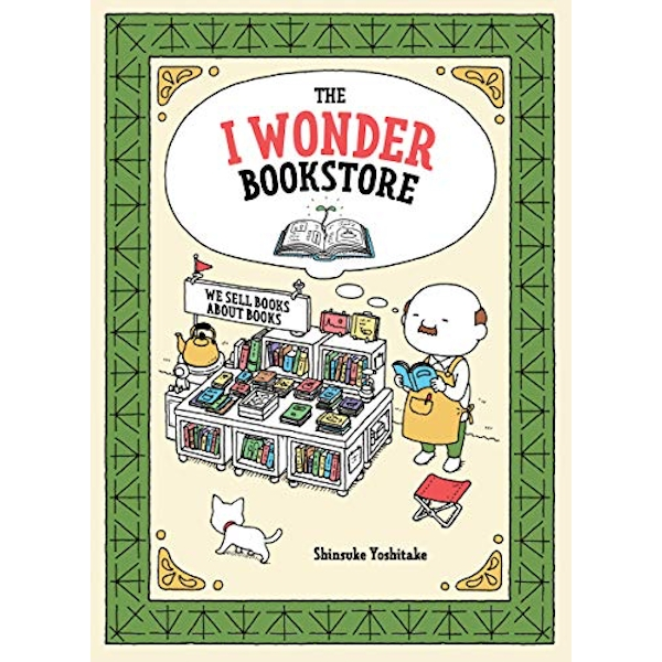 The I Wonder Bookstore  Hardback 2019
