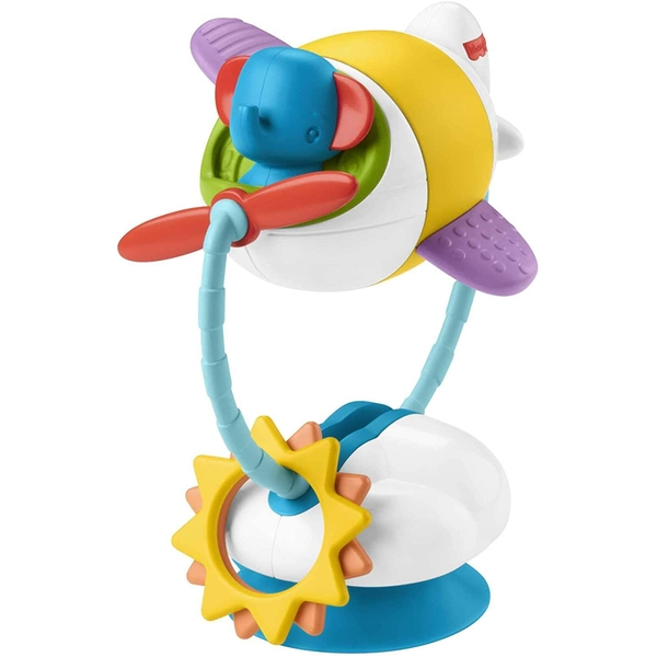 Fisher Price Soar & Spin Aeroplane Suction Cup Toy