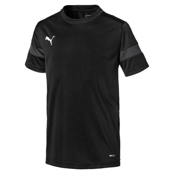 Puma Junior ftblPLAY Training Shirt Asphalt/Black - 5-6 Years