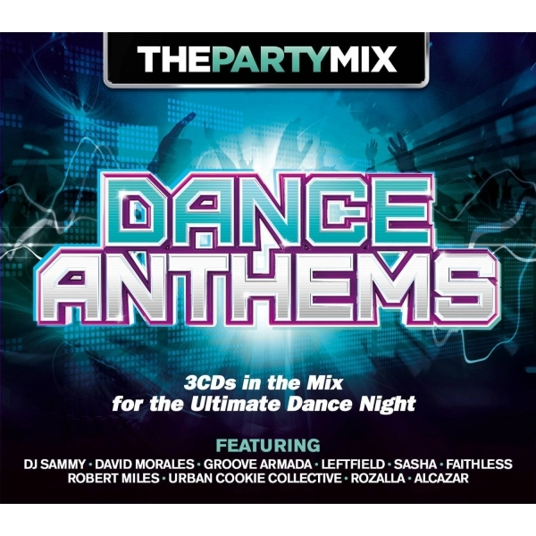 Various Artists - The Party Mix - Dance Anthems CD