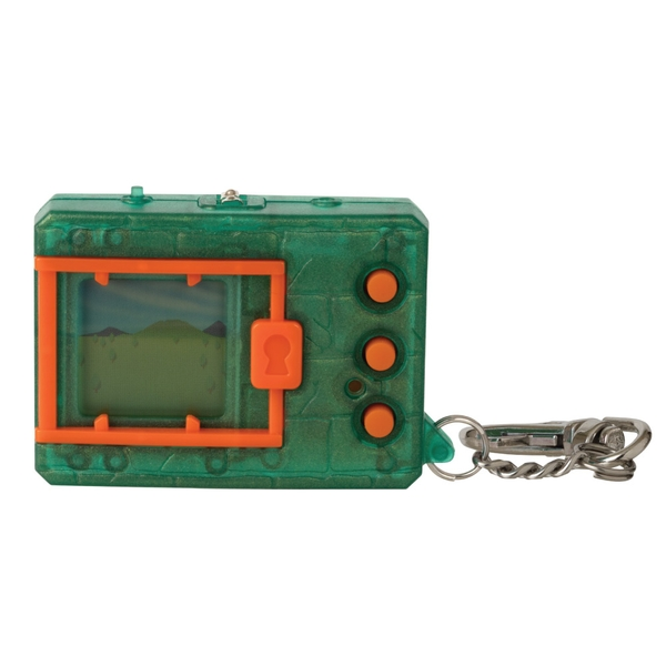 Translucent Green Digimon Bandai Digivice Virtual Pet Monster