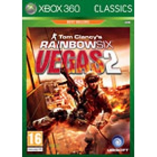 Tom Clancy's Rainbow Six Vegas 2 Classic Game Xbox360