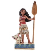 Find Your Own Way Moana (Moana) Disney Traditions Figurine