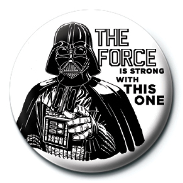 Star Wars - The Force is Strong Badge