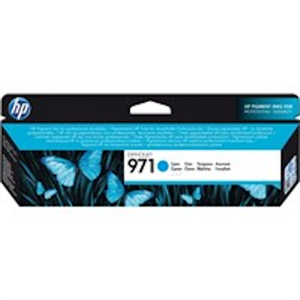 HP CN622AE (971) Ink cartridge cyan, 2.5K pages, 25ml