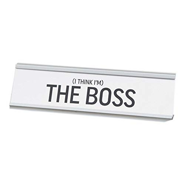 The Boss Desk Plaque