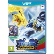 (Damaged Packaging) Pokken Tournament + Shadow Mewtwo Amiibo Card Wii U Game