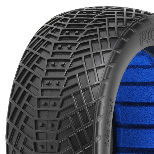 Proline 'Positron' M4 Super-S 1/8 Buggy Tyres W/Closed Cell