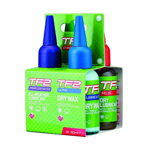 TF2 Pack Of 4 Mixed Chain Lube 50ml