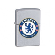 Zippo Chelsea FC New Satin Chrome Windproof Lighter