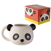 Panda Ceramic Animal Shaped Head Mug