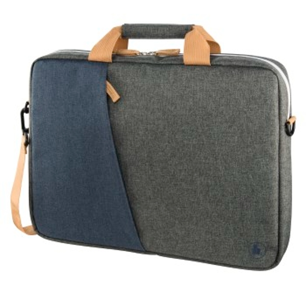 "Hama""Florenz"" Laptop Bag - Juice 34 cm (13.3 inches), Navy Blue/Dark Grey"