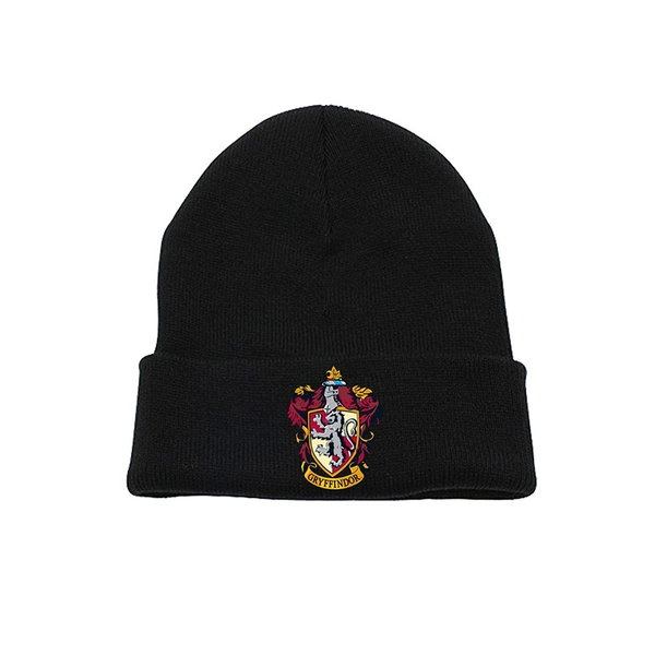 Harry Potter - Gryffindor Crest Beanie - Black