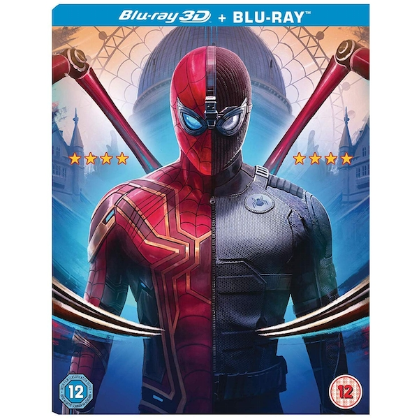 Spider-Man: Far From Home 3D Blu-ray