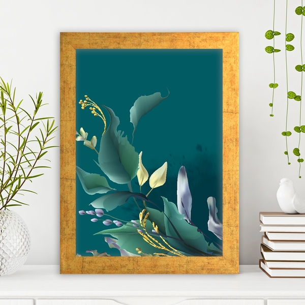 AC14867169684 Multicolor Decorative Framed MDF Painting