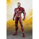 Ex-Display Iron Man MK50 (Avengers Infinity War) Bandai Tamashi Nations SH Figuarts Action Figure Used - Like New
